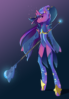 MLP Black Mage by StickFigureQueen