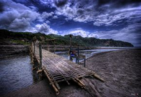hdr - parangtritis 02 by mayonzz