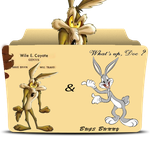 Wile E Coyote Genius & Bugs Bunny Collection  by Jass8
