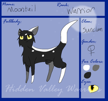 Moontail ref (REDONE) by FireBurstCat