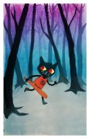 Night In The Woods by bruncikara