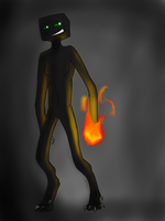 Scorch The Enderman by Emsnukitty