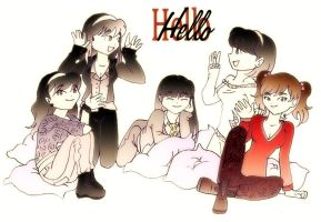 Hello SHINee Girls by Pulimcartoon