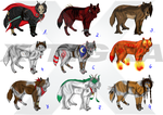 WOLF POINT ADOPTABLES - CLOSED by X-TIGRA