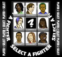 Select Your Fighter by Egghead-RJThompson