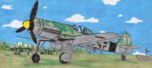 FW190D-13 with ARBOLITEN by DingoPatagonico