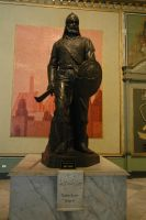 Statue of Saladin in Cairo museum by YamaLama1986