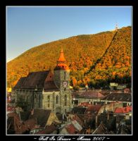 Fall in Brasov by narcotistu
