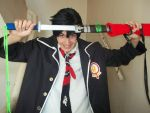 Rin okumura cosplay by Azofighter