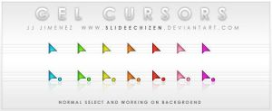 Gel Cursors by SlideEchizen