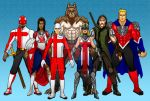Vanguard Line Up by MrHades