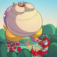 Wendy bigger then the mushroom kingdom by RickyDemont