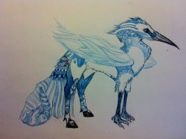 heron gryphon thingy by Andrutza97