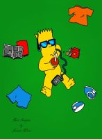 Bart Simpson 08/09/2014 by Castiel22