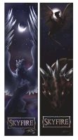 Skyfire Bookmarks by ElementalJess