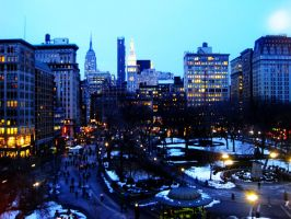 Union Square by LouiseCypher