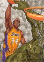 shaq dunking on the hulk by mccat