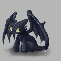 Toothless by PhuiJL