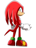 Knuckles The Echidna by nachomaan