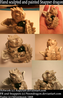 Hand-Made Dragon Sculpture by Aspenture