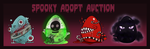 [CLOSED] Spooky Adopt Auction by vADOPTABLEs