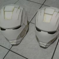 Two new Iron Man helmets by IgorTodd
