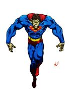 superman with huge arms by C-WeaponX