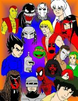 Multiple Characters by X2j2012