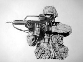 soldier by Petronas