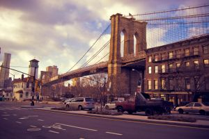 Brooklyn Bridge by LunaticDesire
