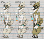 Bird bro color palettes I guess by VCR-WOLFE