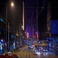 ghostly Hong Kong XI by photoport