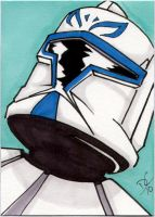 Clone wars sketch card by The-Standard