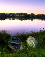 Sleeping Boats by Toni-R
