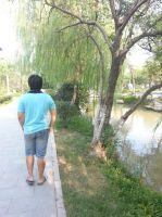 Strolling in the park by Laura-in-china