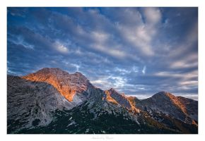 Sunrise at the Hochtor by AndreasResch