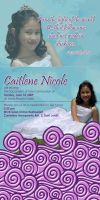Caitlene's invitation by eggay