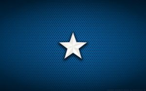 Wallpaper - Captain America Movie 'Star' Logo by Kalangozilla