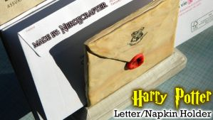 Harry Potter Envelope Holder by NerdEcrafter