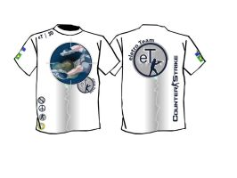eT I 3D _ eletro Team T-Shirt by ljmi