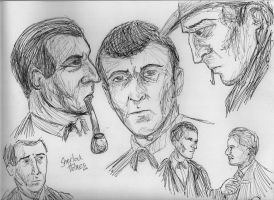 A Study in Sketches by GoodOldBaz