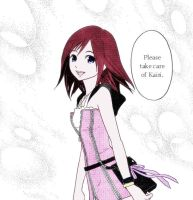 Please take care of Kairi by Serah-Lightning