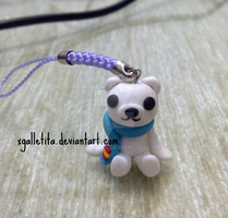 Polar bear pendant by xgalletita
