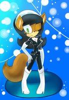 COMMISSION: Kitty Katswell sonic form by legandarydeviant