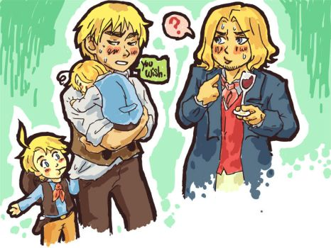 Hetalia: Questioned Paternity by Trillzey