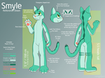 Smyle Reference Sheet by Rawr-Grawr