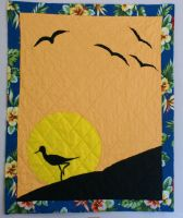 Sunset quilt by alrach