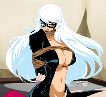 Commissioned - Black Cat Taken by gagem
