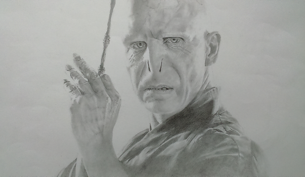 Ralph Fiennes, Lord Voldemort by Emperique