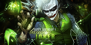 Joker Sig 2. [BIRTHDAY GIFT] by LifeAlpha